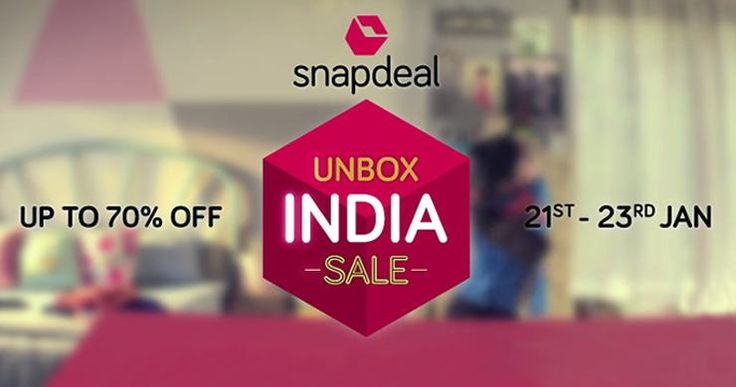 Your quick & simple guide to decoding the #SnapDeal #UnboxIndiaSale and save the most this #RepublicDay.