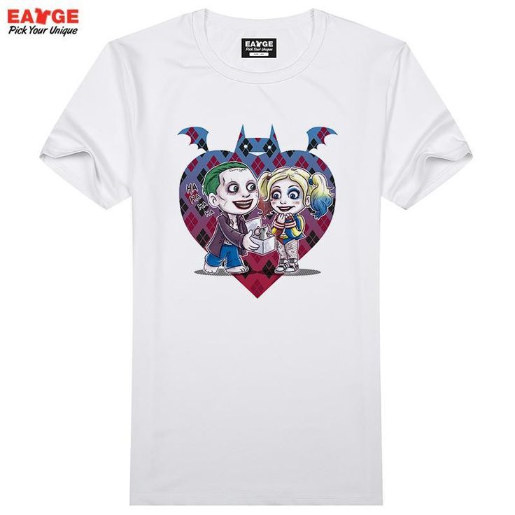 cdd1a96aa Suicide Squad T Shirt Harley Quinn T-shirt Joker Cool Novelty Funny Hip Hop  Pop - Batman T Shrts - Fashionable Batman T Shrts for sales #batman #shirts  ...