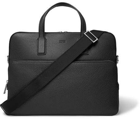 HUGO BOSS Crosstown Full-Grain Leather Briefcase   Products   Pinterest    Bags, Briefcase and Leather briefcase 9fd60b41cd