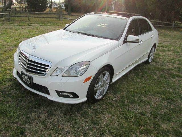 2010 Mercedes-Benz E-Class AWD E 350 Luxury 4MATIC 4dr Sedan **FOR SALE** By AUTO GALLERY - 1144A SAVANNAH RD  Lewes, DE