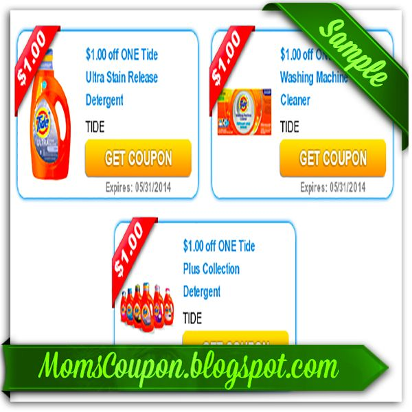 printable Tide coupons February 2015