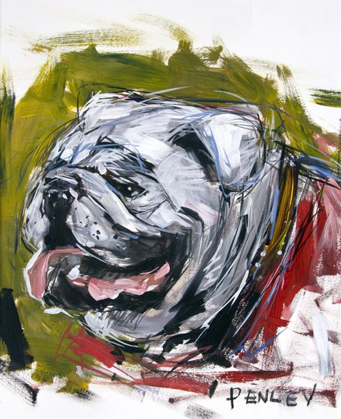 any Steve Penley UGA artwork