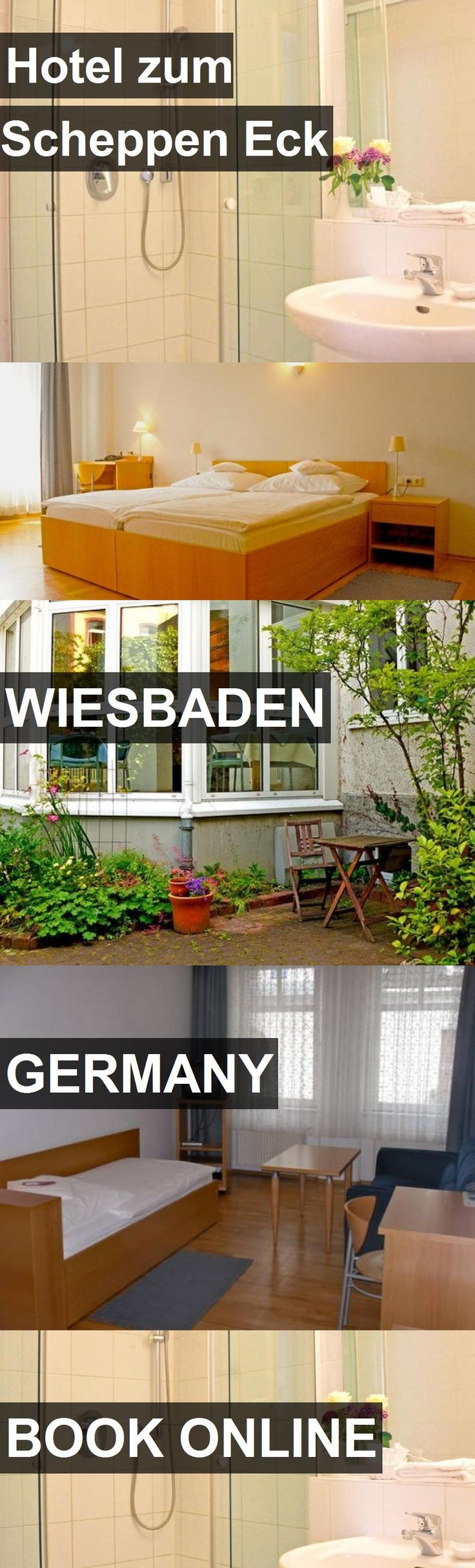 Hotel Hotel zum Scheppen Eck in Wiesbaden, Germany. For more information, photos, reviews and best prices please follow the link. #Germany #Wiesbaden #HotelzumScheppenEck #hotel #travel #vacation