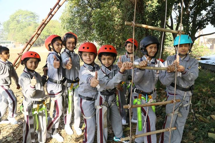 Heritage School organized a series of adventure activities for their students since they believe such activities increase student's productivity, expose them to different working environment and develop the qualities of team spirit, friendship and trust amongst each other. A sequence of activities like tyre activities, commando net, net climbing, monkey crawling, zip line, Burma bridge, ladder climbing and tent pitching were enjoyed by all the students. These games result in better health…