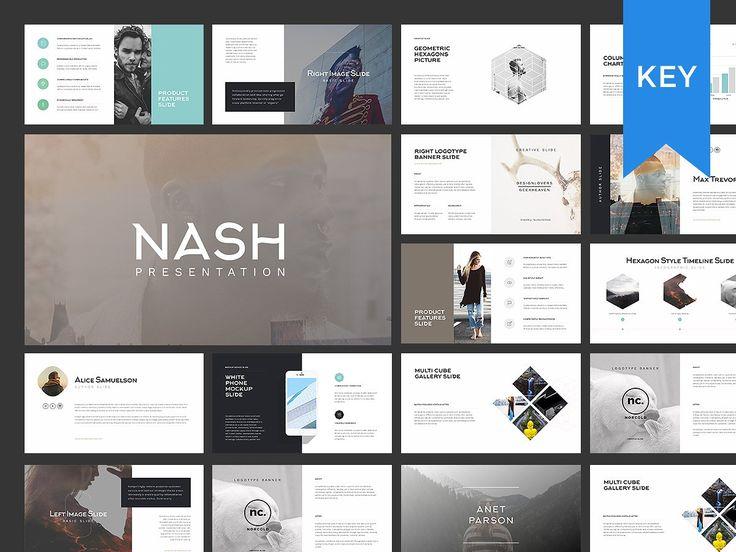 NASH Keynote Presentation / GIFT by GoaShape on @creativemarket
