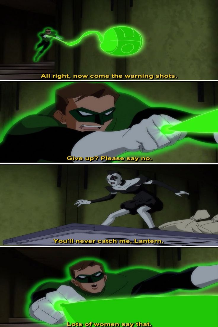 Quotes from Justice League Doom (2012) Movie - Nathan Fillion as Green Lantern