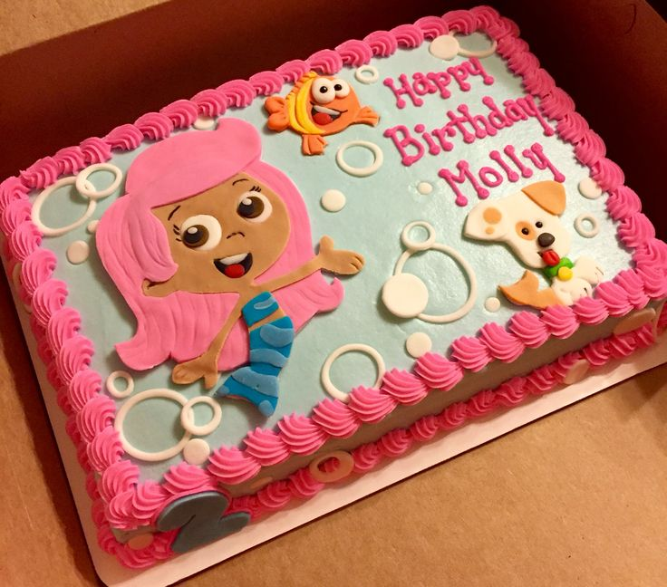 Bubble Guppies cake #bubbleguppiecakes #sheetcakesdonthavetobeboring #sheetcakes # cakeart