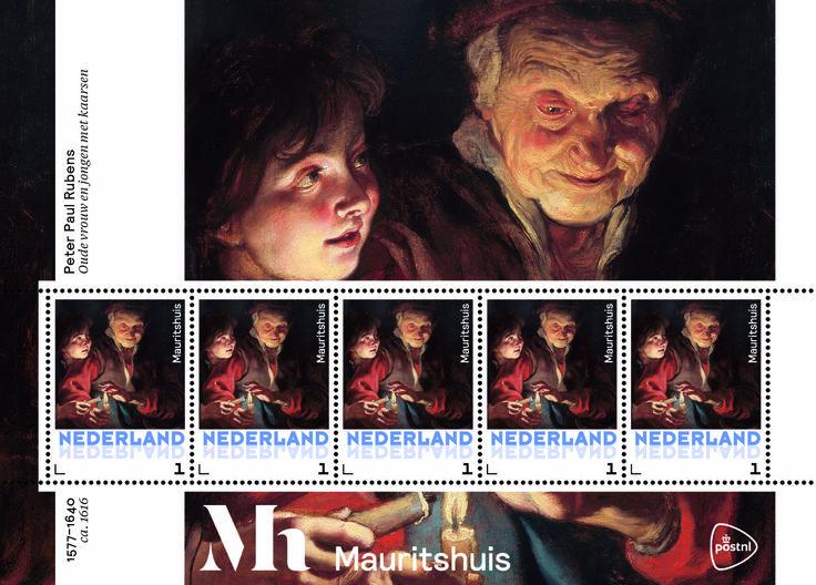 Rubens: Oude vrouw en jongen
