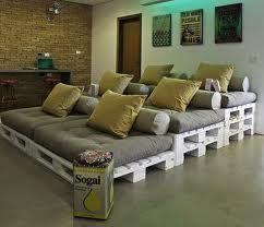 meubels uit paletten - Google zoeken