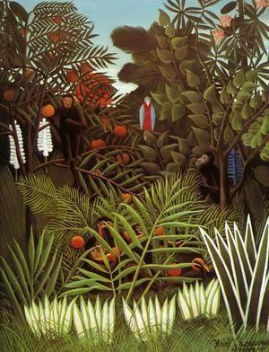 Exotic Landscape  Henri Julien Rousseau