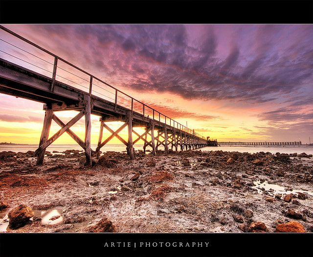 Moonta Bay Jetty, Yorke Peninsula, South Australia :: HDR