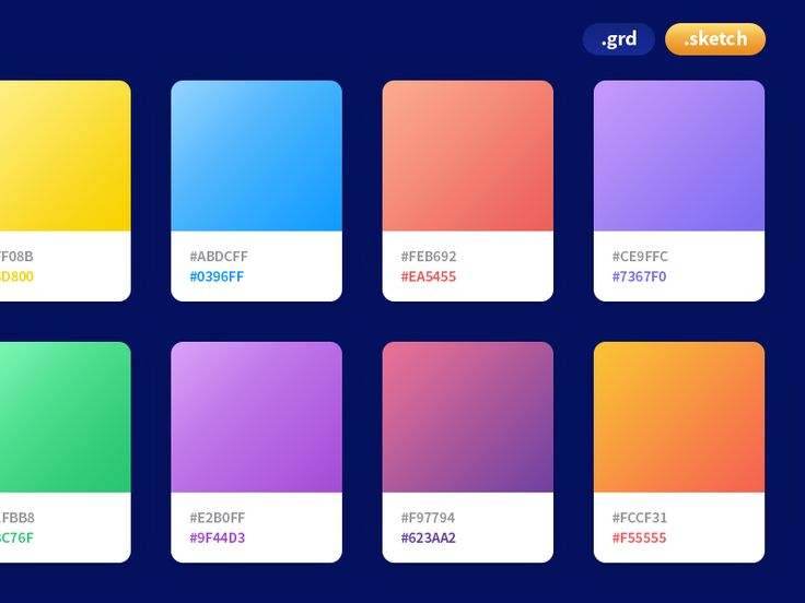 Coolhue - Gradient Palette by Nitish Kumar