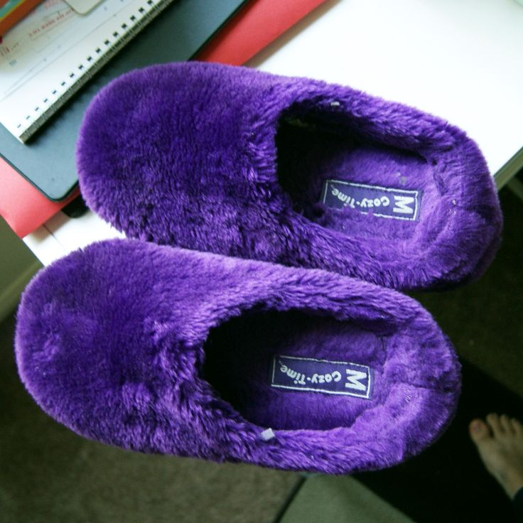 purple slippers waaaaaaaannnnttttttttt