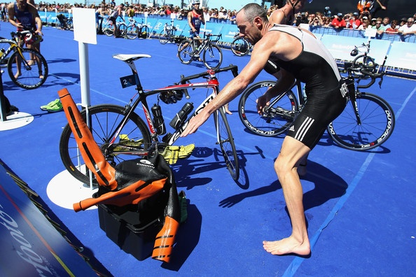Bevan Docherty Photo - ITU Triathlon World Cup