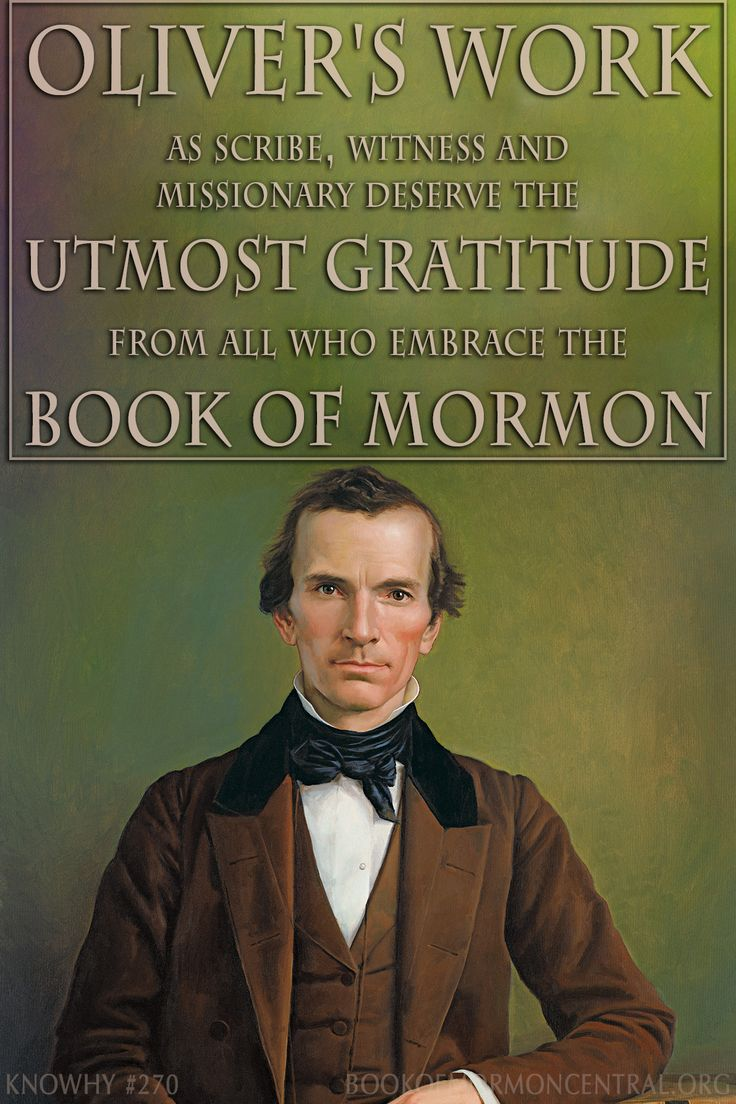 Few may realize just how important Oliver Cowdery was to the coming forth of the Book of Mormon. Indeed, he was even prophesied centuries before by Nephi and Moroni. Learn more about the history and importance of Oliver Cowdery. Image: Oliver Cowdery retouching and colorization by Bryce M Haymond https://knowhy.bookofmormoncentral.org/content/how-important-was-oliver-cowdery-in-bringing-forth-the-book-of-mormon #BookofMormon #JosephSmith #Mormon #LDS #ShareGoodness