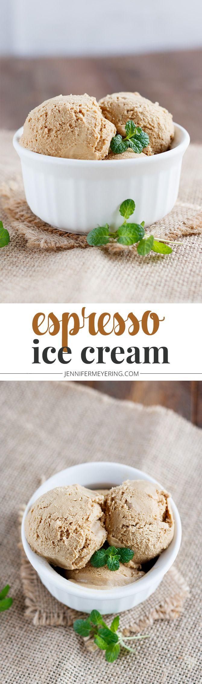 Espresso Ice Cream - JenniferMeyering.com
