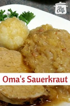 Traditional German Sauerkraut!