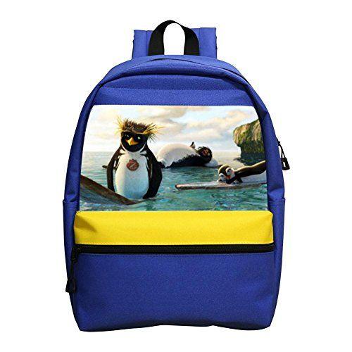 Aaronna Surf's Up kid's Classic Backpack Unisex Water Resistant School Rucksack Travel Backpack