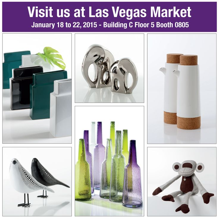 Visit us at Las Vegas Market and see over 400 new products.  January 18 to 22, 2015  Building C Floor 5 Booth 0805 Great show specials offered. #TorreAndTagus #LVMkt #TradeShow www.torretagus.com