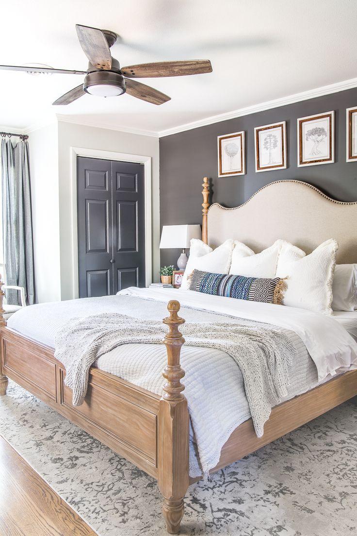 20 Modern Ceiling Fans Rustic master bedroom
