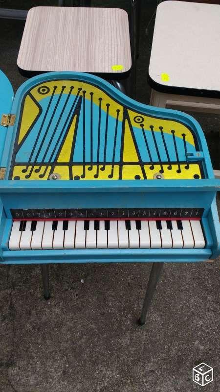 Très beau piano à queue ancien vintage d'enfant Décoration Paris - leboncoin.fr