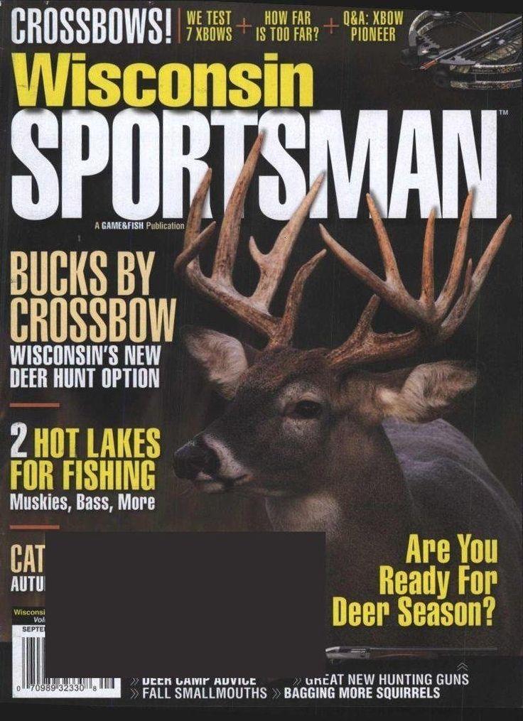 Wisconsin sportsman magazine subscription hunting and for Hunting and fishing magazine