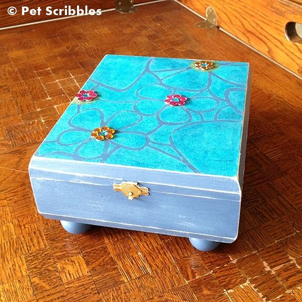 If you don't have access to a supply of empty cigar boxes, you can purchase new unfinished wood boxes at craft stores like Michaels. Description from petscribbles.com. I searched for this on bing.com/images