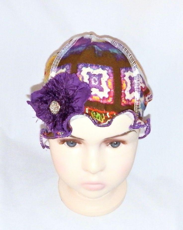 Kids chemo headwear,chemo hats,beanies,chemo bonnets,caps Chapeau chimio enfants,bonnet chimio, couvre tête chimio  by BleukaktusHats on Etsy