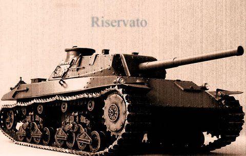 ansaldo fiat p43 heavy tank