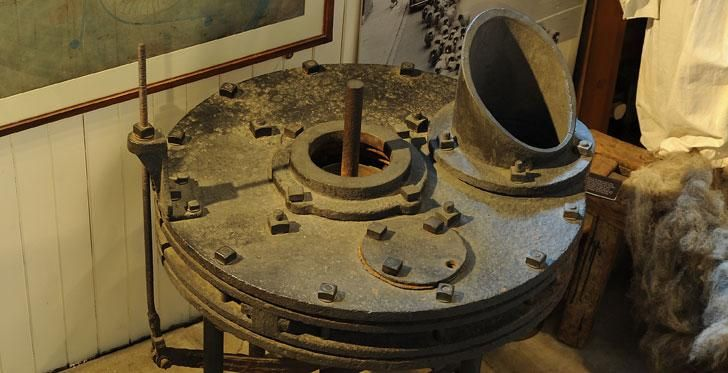 Victorian hydropower.... Williamson Brothers Vortex Turbine Number One | Museum of Lakeland Life & Industry