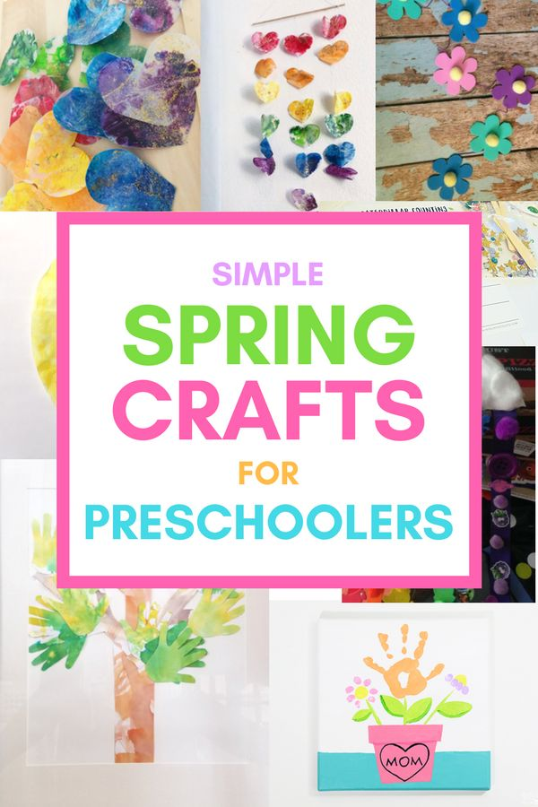 Spring crafts for preschoolers A roundup of fun and education arts and crafts related to springtime that you can do with your toddler or preschooler