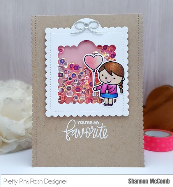 Stamp & Glitter: Pretty Pink Posh March Release Hop