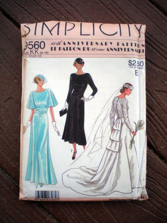 Vintage Wedding Dress Patterns 1920s