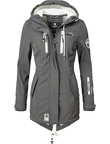 Marikoo Mountain Damen Softshell Jacke Outdoorjacke