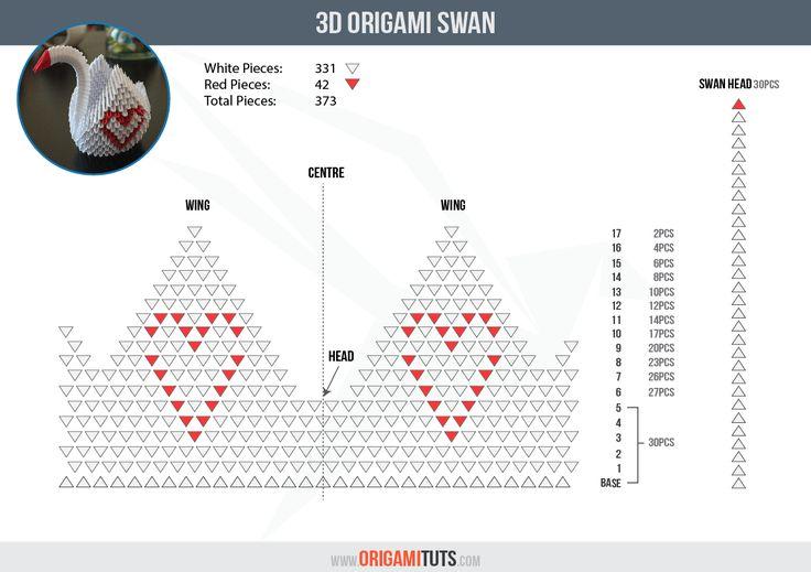 25+ trending Origami Swan ideas on Pinterest | Bird ... - photo#22
