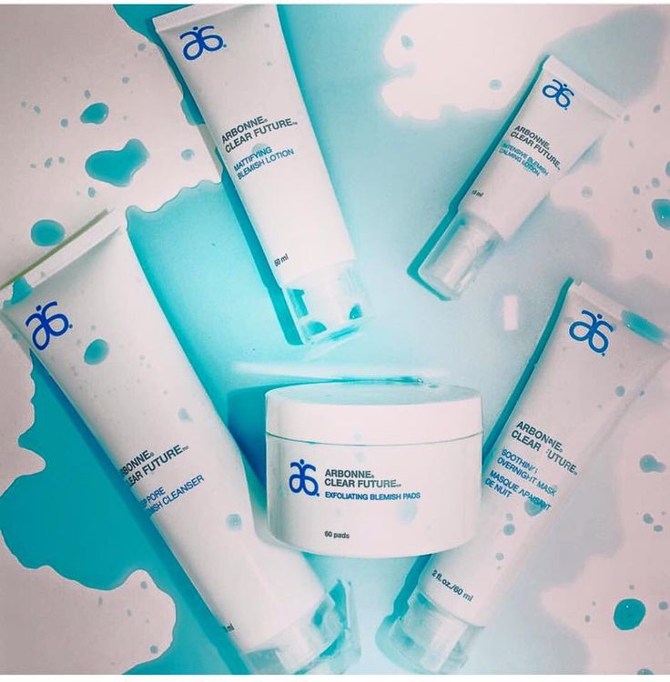 NEW! Arbonne Clear Future treat acne and minimize pores
