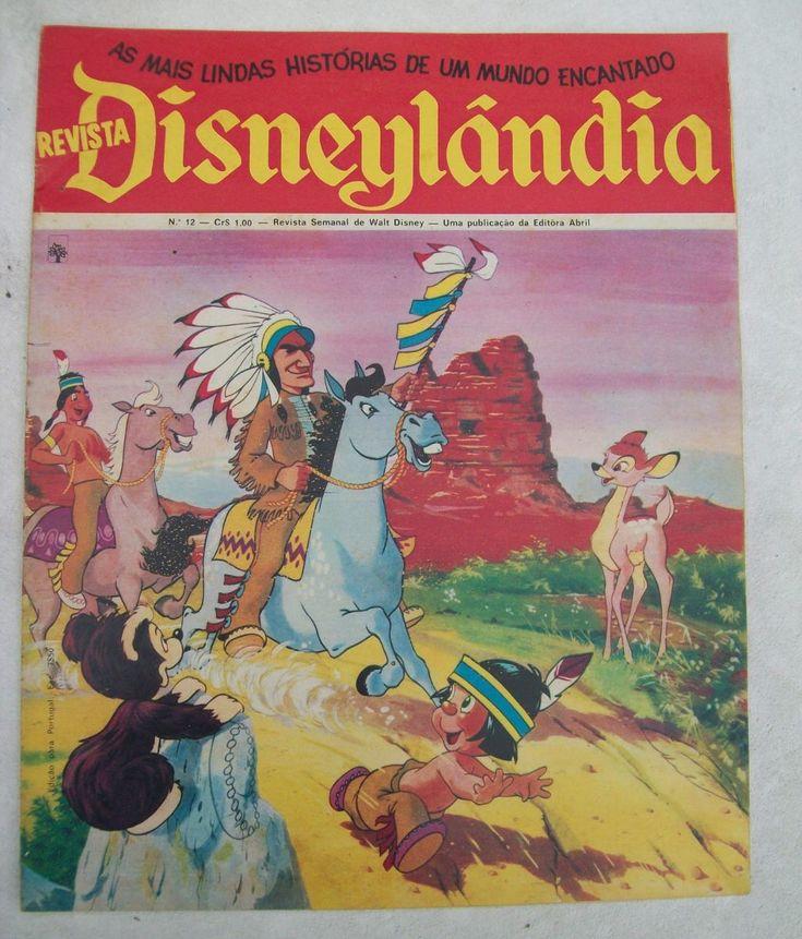 Revista Disneylândia Nº 12: Dumbo - Mogli - Peter Pan - 1971 - R$ 75,00 no MercadoLivre