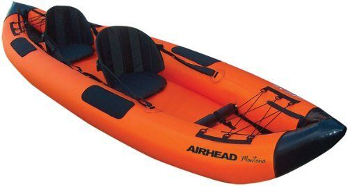 """AIRHEAD AHTK-2 Montana Performance 2 Person Kayak"""