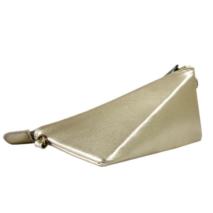 Trinity - gold leather - Biskup Handbags