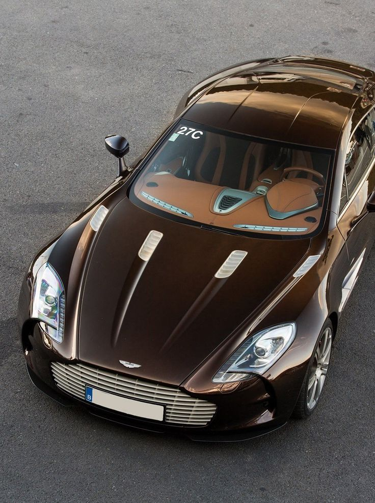 Visit The MACHINE Shop Café... ❤ The Best of Aston Martin... ❤ (Aston Martin One-77 Coupé)