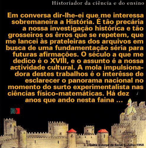 Historiador da ciência e do ensino :: Rómulo de Carvalho :: Biblioteca Nacional