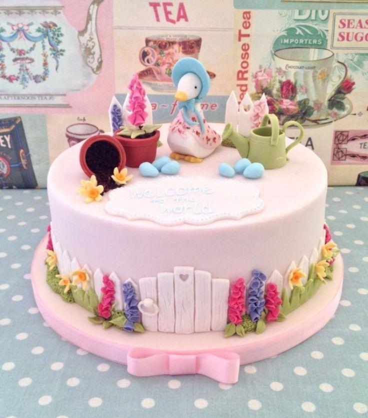 Beatrix Potter Christening Cake - Cake by The Skylark Bakery