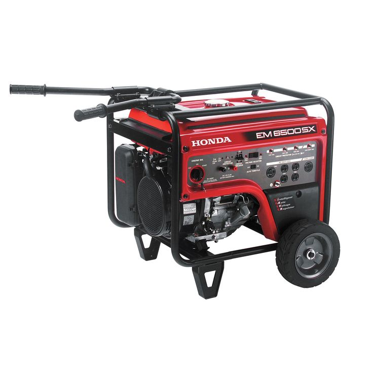 Check out the Honda Generator EM6500S httpharborpowerhousecomhonda