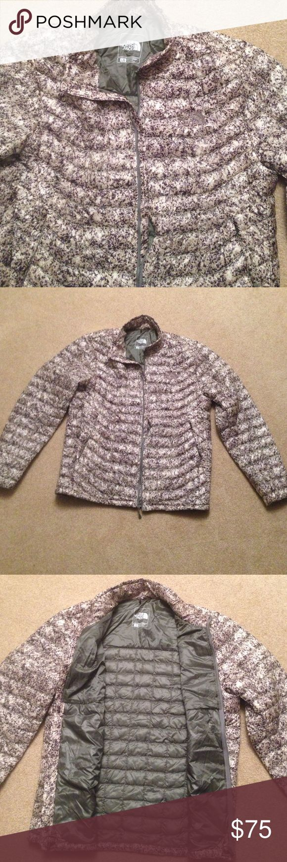 NWOT ☃️North face Thermoball  Jacket Never Worn North face men's Thermoball Jacket   Very nice black/grey pattern North Face Jackets & Coats Puffers
