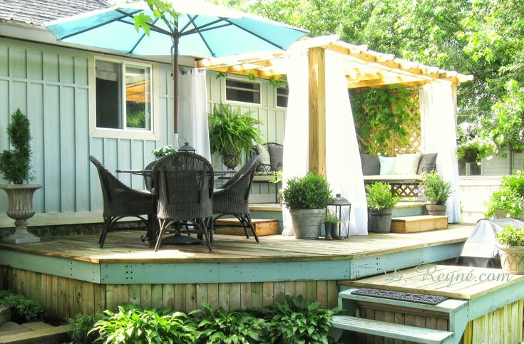 Tinkerhouse trading company: On the deck, my quiet place