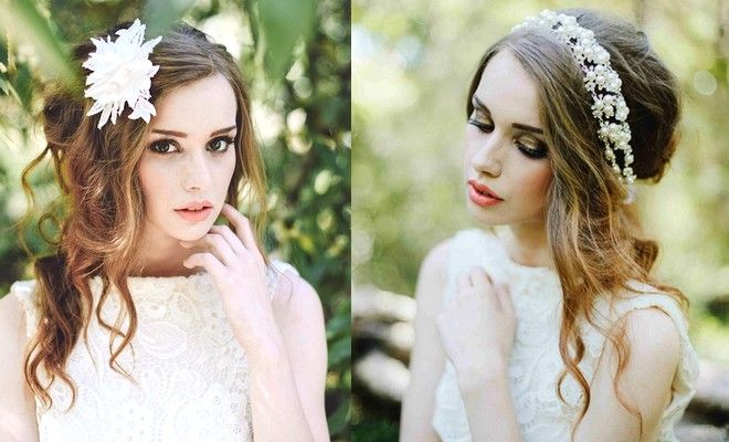 Boheme Νυφικά Χτενίσματα για ρομαντικό look το Φθινόπωρο 2015! - http://blog.ilikebeauty.gr/boheme-wedding-hairstyles/