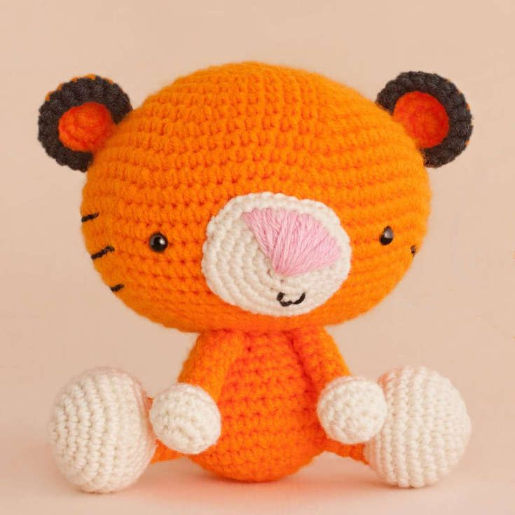 Amigurumi Patterns Tiger : Free Amigurumi Patterns & Tutorials Pinterestte hakkinda ...
