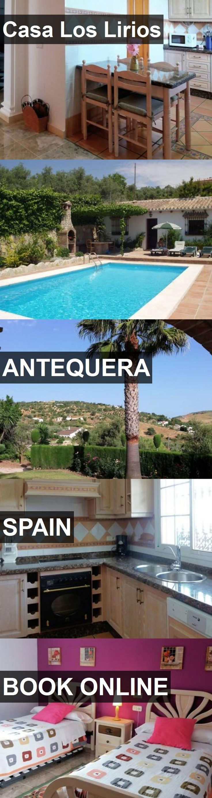 Hotel Casa Los Lirios in Antequera, Spain. For more information, photos, reviews and best prices please follow the link. #Spain #Antequera #travel #vacation #hotel
