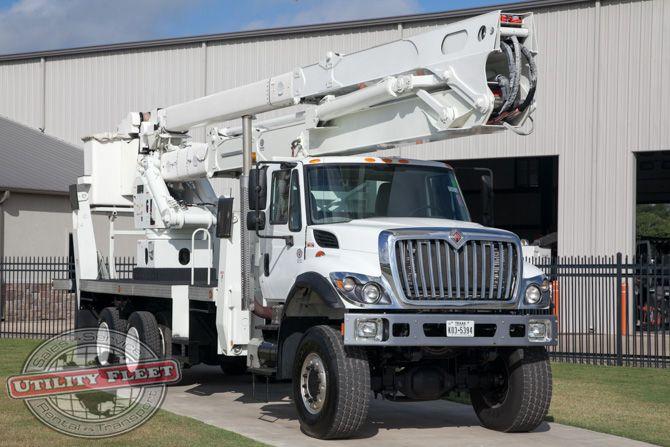 Used Bucket Truck for Sale | Terex Hi-Ranger TM105 - 2010 International 7500 | Utility Fleet Sales - Stock# 13073