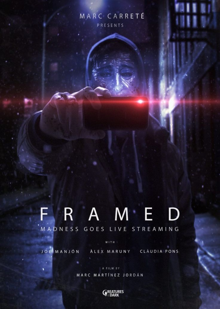 FRAMED is a 2016 Spanish horror film directed by Marc Martínez Jordán from a screenplay co-written with Jaume Cuspinera. It was executive/line produced by Marc Carreté (After the Lethargy; Asmodexi…